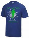 Damen-Funktionsshirt Individual Together - Reflex Blue